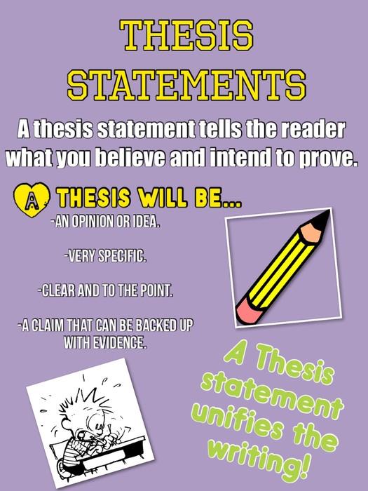 prove thesis