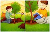 Дети сажают деревья картинки 57