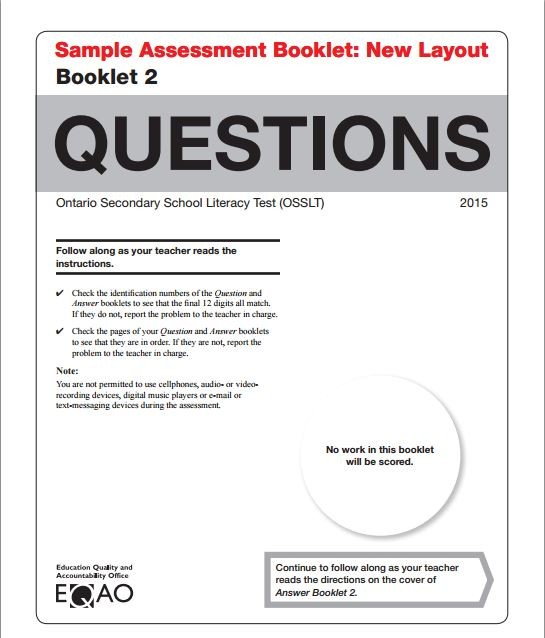 osslt practice questions with answers pdf
