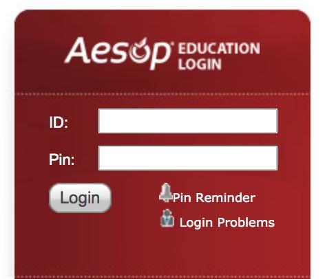 aesop absence login