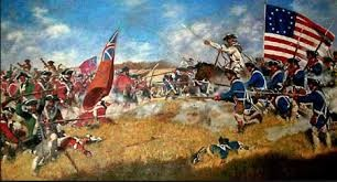 British and Americans fighting for indenpendence