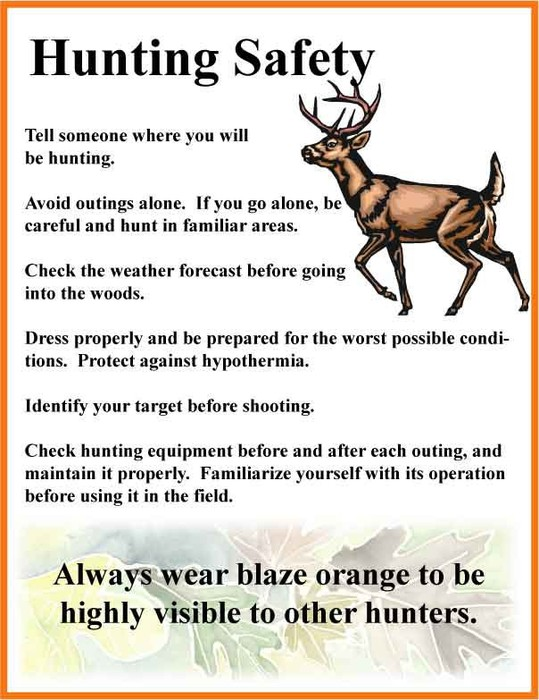 Hunting Tips and rules