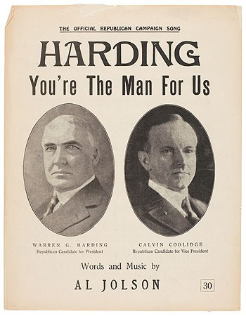 return to normalcy Return to normalcy, a return to the way of life before world war i, was united states presidential candidate warren g harding's campaign slogan for the election of 1920.
