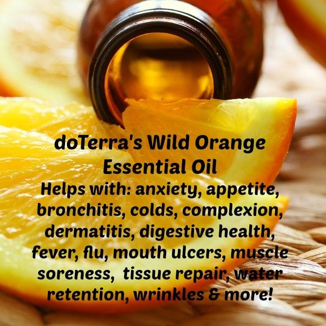 All attendees will receive a FREE bottle of doTerra Wild Orange essential oil.  Bring a friend for a surprise gift!
