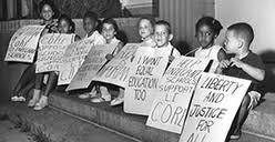 The struggle for civil rights had defined the '60s.