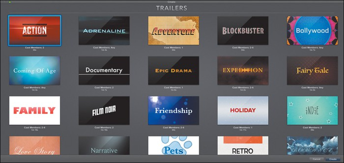 Imovie trailers smore newsletters for education for Trailer templates for imovie