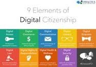 There are nine elements in Digital Citizenship that a Digital Citizen must have, they are...
