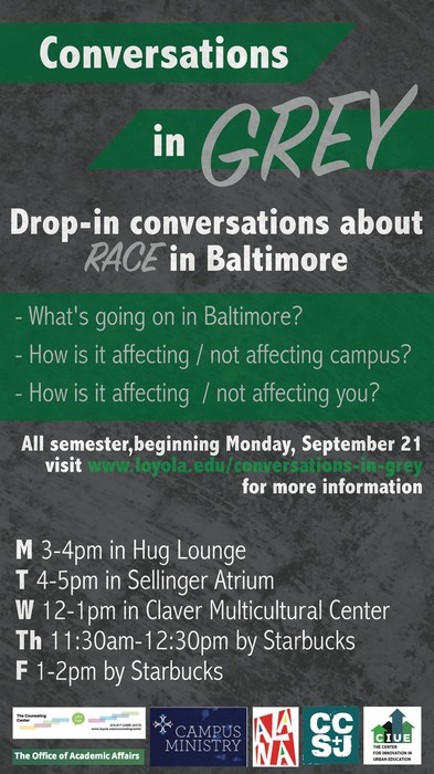 Conversations in Grey: Drop-In Conversations about Race in Baltimore