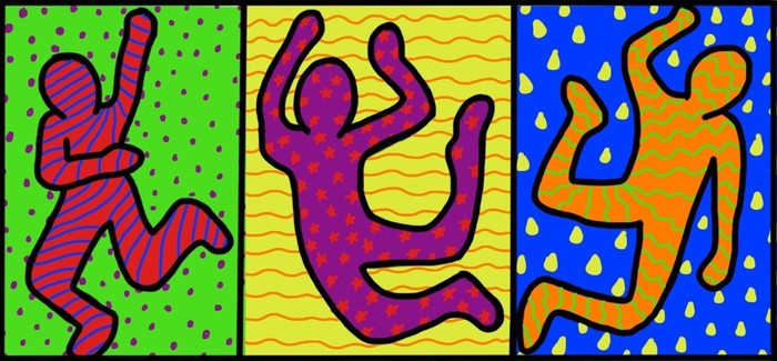 Steam art lessons smore newsletters for education for Keith haring figure templates