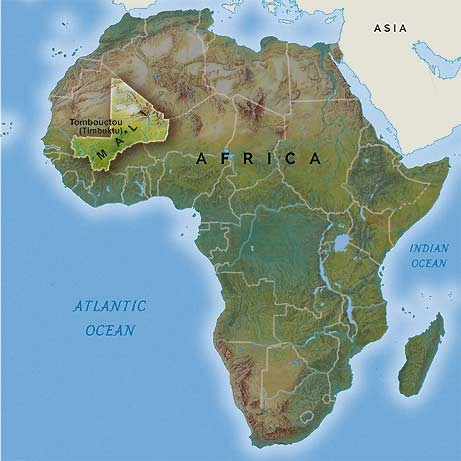 Timbuktu Location On World Map.African Kingdom Timbuktu Smore Newsletters