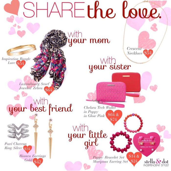 Stella & Dot Valentine\'s Day Treat | Smore Newsletters for Business