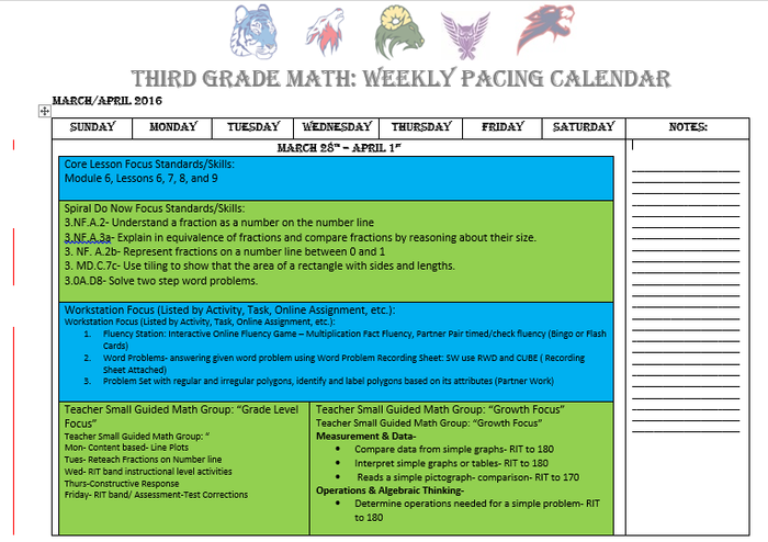 Math Department 3rd-5th Grade | Smore Newsletters for Education