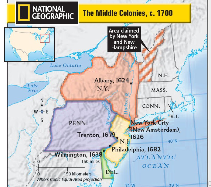 Map Of The 4 New England Colonies.The Thirteen Colonies Smore Newsletters