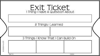 picture about Printable Exit Tickets known as Exit Ticket Smore Newsletters for Education and learning