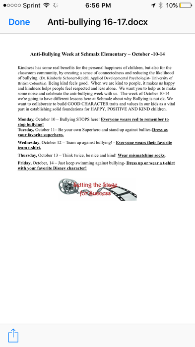 Weekly Script For Schmalz Smore Newsletters For Education