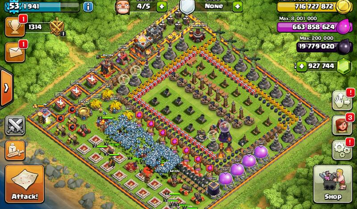 download clash of clans fhx