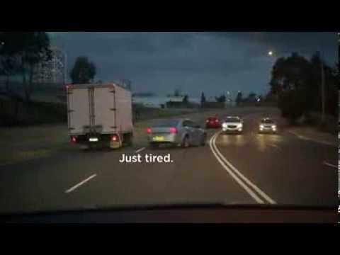 Not Drunk, Not Speeding, Just Tired