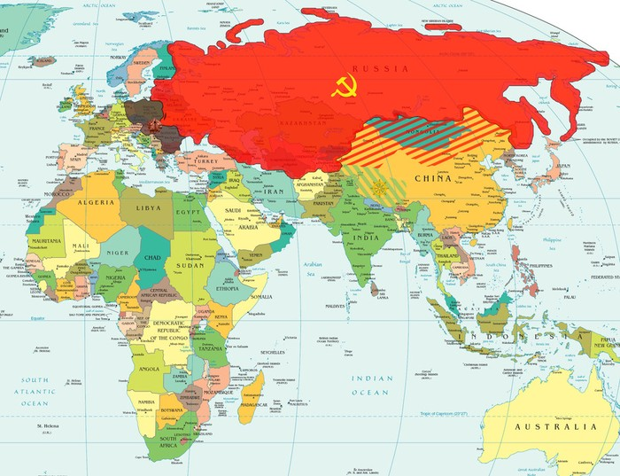Climate and Geography of Sovietic Union.
