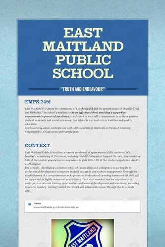 East Maitland Public School