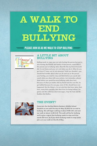 A Walk To End Bullying