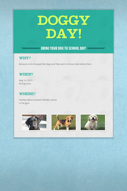 Doggy Day!