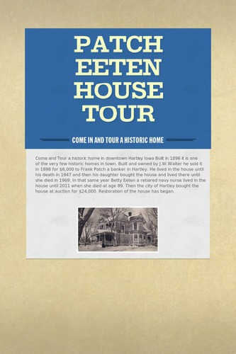 Patch Eeten House Tour