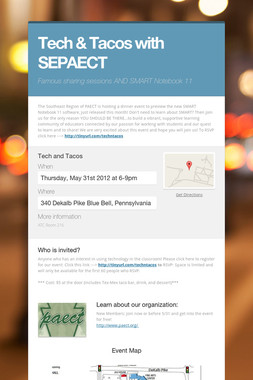 Tech & Tacos with SEPAECT
