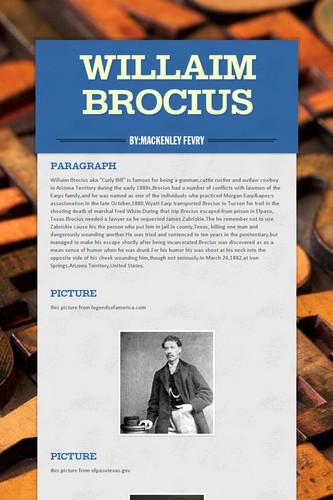Willaim Brocius