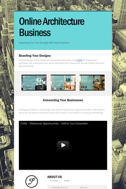 Online Architecture Business