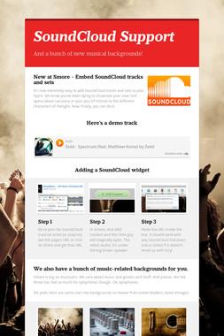 SoundCloud Support