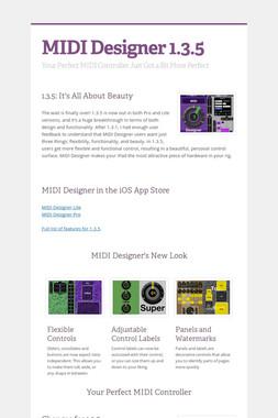 MIDI Designer 1.3.5