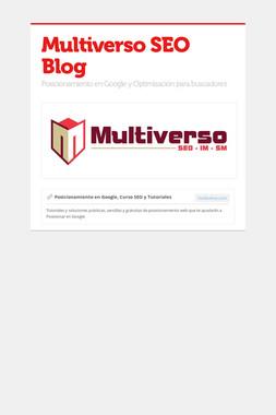 Multiverso SEO Blog
