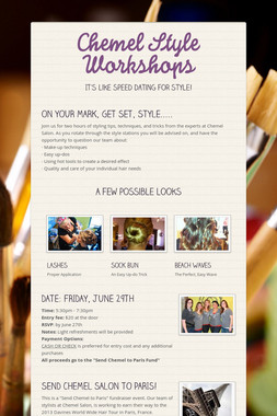 Chemel Style Workshops
