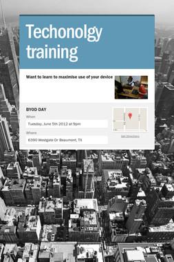 Techonolgy training