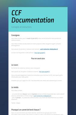 CCF Documentation