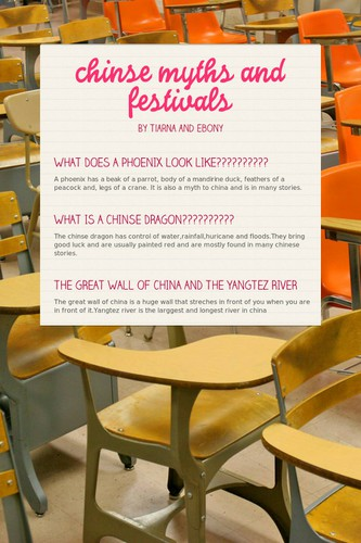 chinse myths and festivals