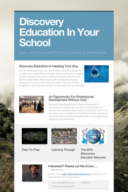 Discovery Education In Your School