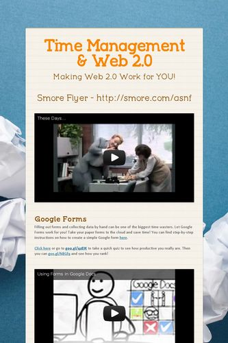 Time Management & Web 2.0