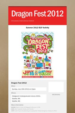 Dragon Fest 2012