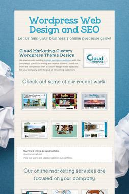 Wordpress Web Design and SEO