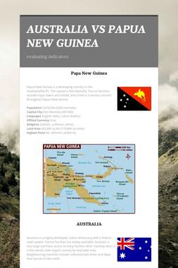 AUSTRALIA VS PAPUA NEW GUINEA