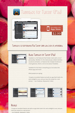 Tweetbot for Twitter (iPad)