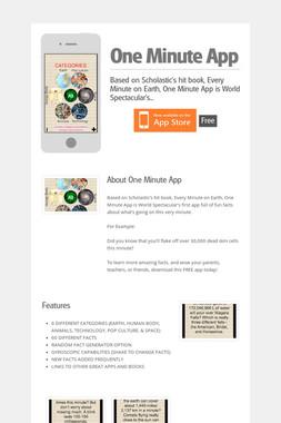 One Minute App