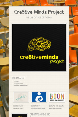 Cre8tive Minds Project