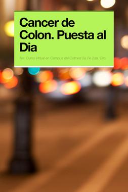 Cancer de Colon. Puesta al Dia