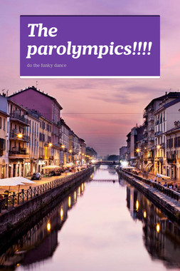 The parolympics!!!!