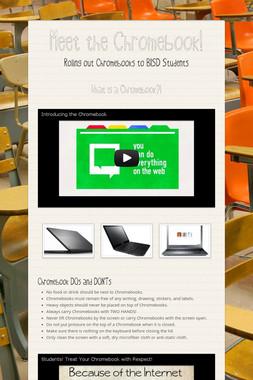 Meet the Chromebook!