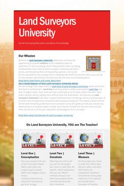 Land Surveyors University