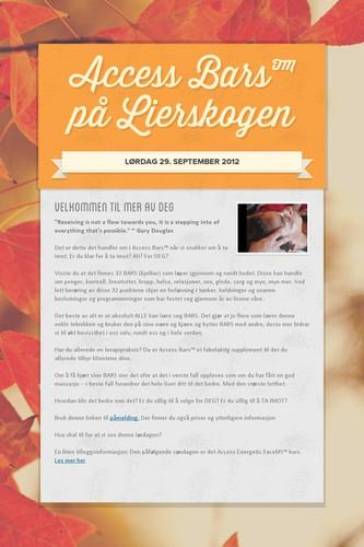 Access Bars™ på Lierskogen