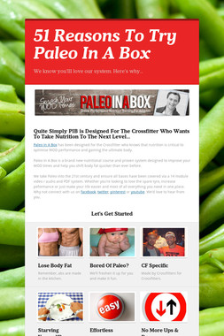 51 Reasons To Try Paleo In A Box